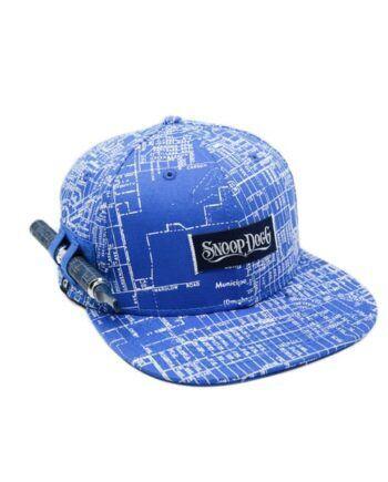 Boné Azul – Snoop Dogg c  compartimento para Vaporizador 0462d4cb7af